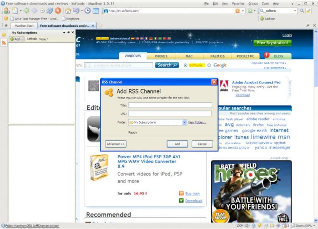 download maxthon mx5 cloud browser for windows