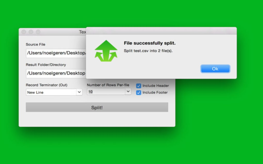 Text File Splitter for Mac - Download