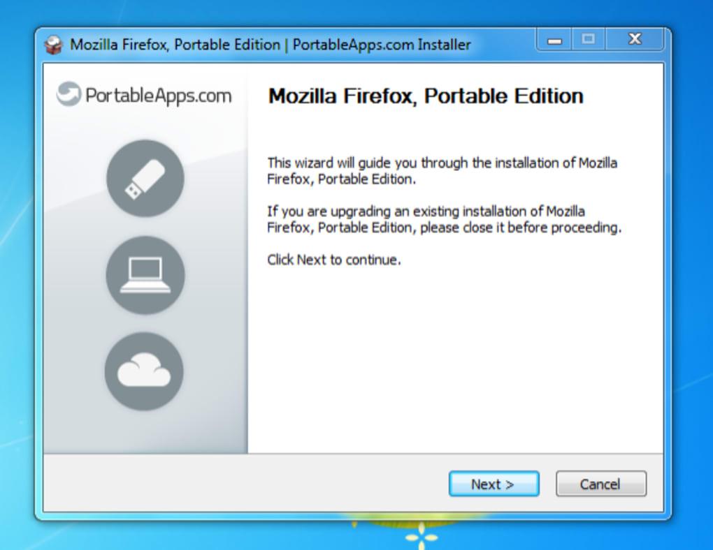 firefox portable versions