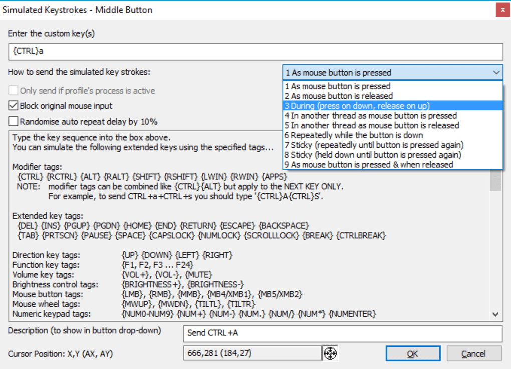 X-Mouse Button Control untuk Windows - Unduh