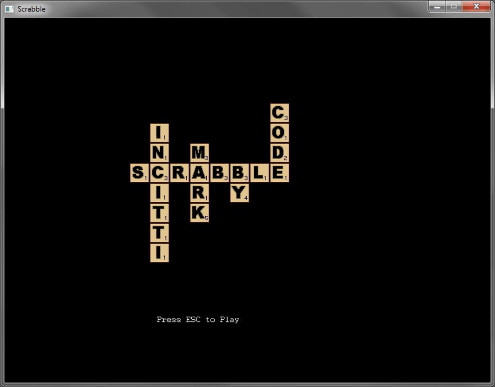 Scrabble t l charger for Choix ecran pc