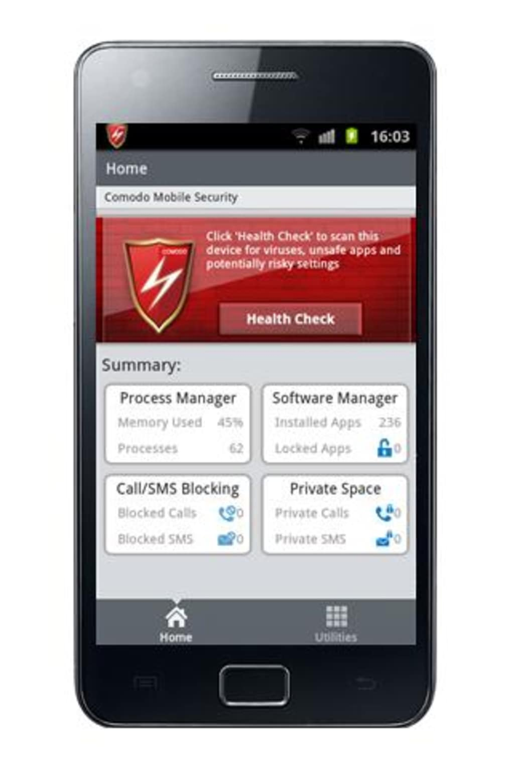 Comodo Mobile Security for Android - Download