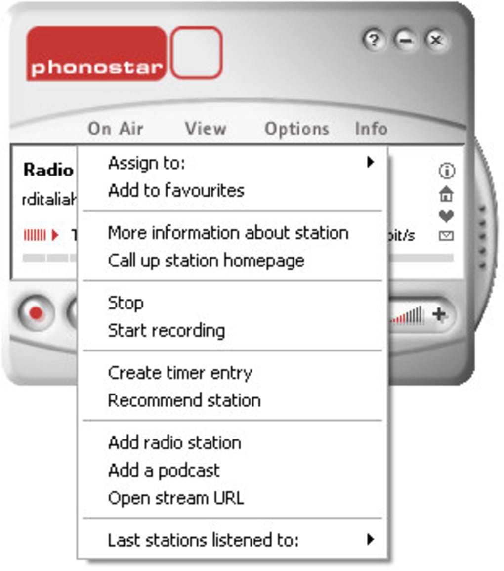 phonostar-player 3.0