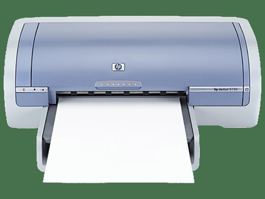 HP Deskjet 5150 Color Inkjet Printer drivers - Download