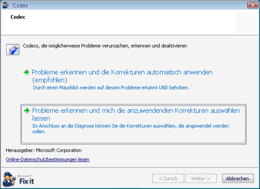Microsoft Fix It Center >> Microsoft Fix It Center Download