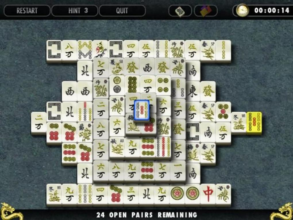 mahjong solitaire mac os x free