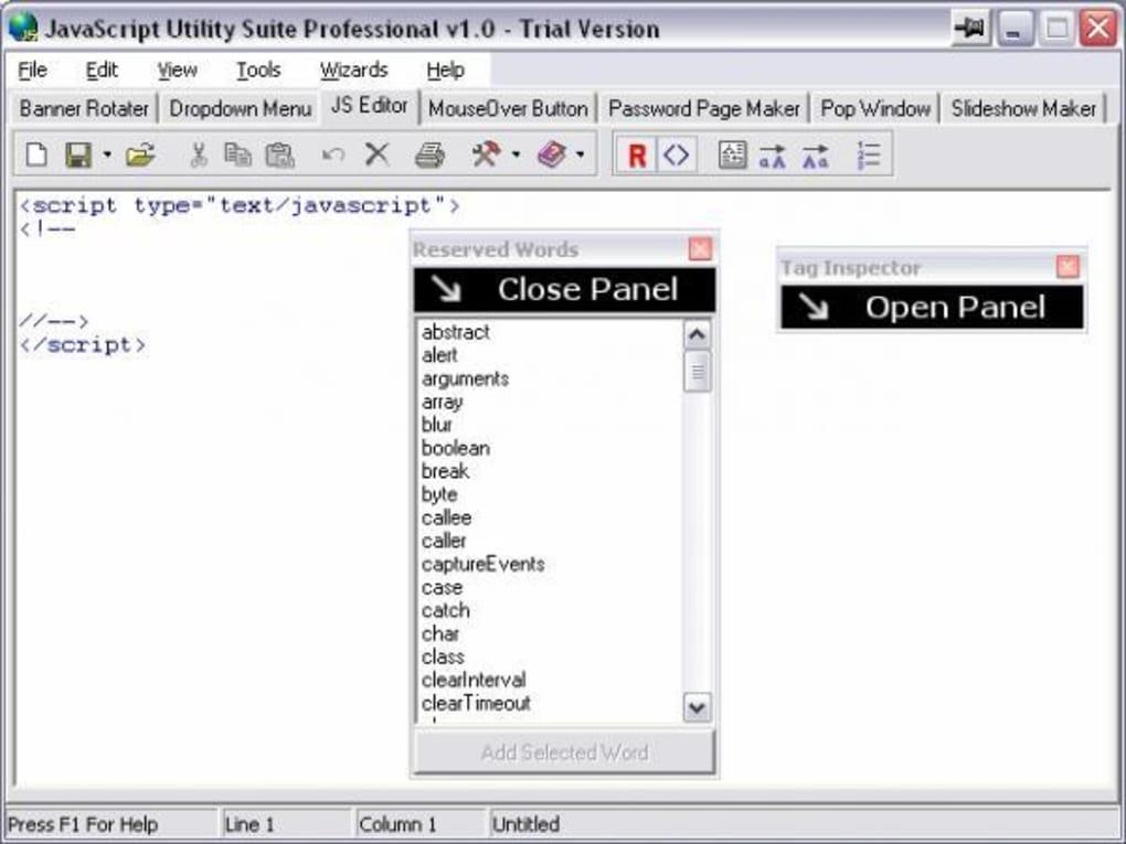 JavaScript Utility Suite - Download