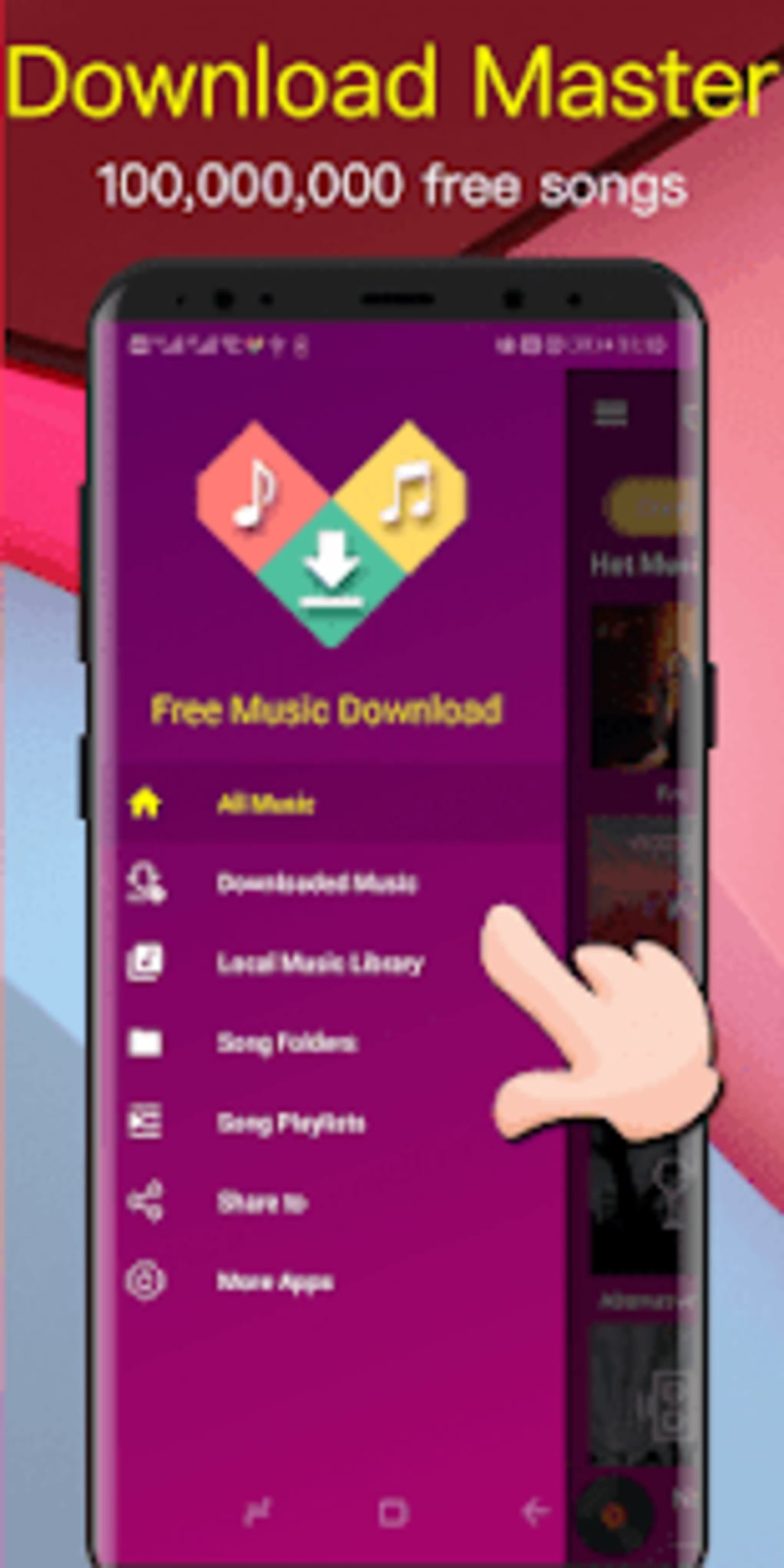 Free Music Download - Unlimited Mp3 Songs Offline for Android - Download