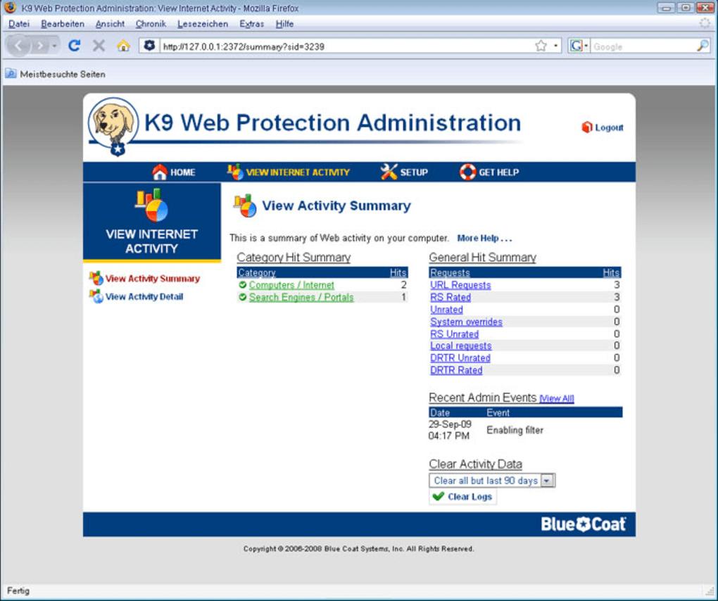 k9 web protection français gratuit