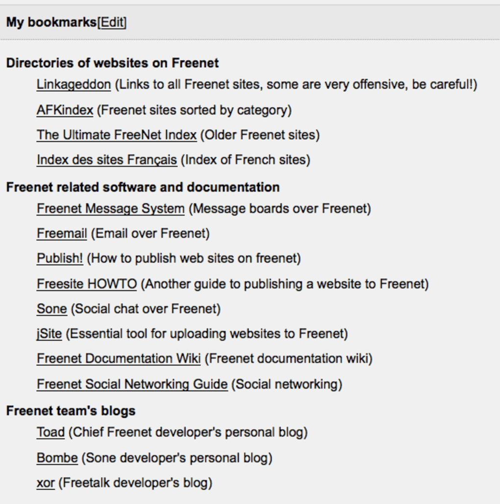 Freenet for Mac - Download