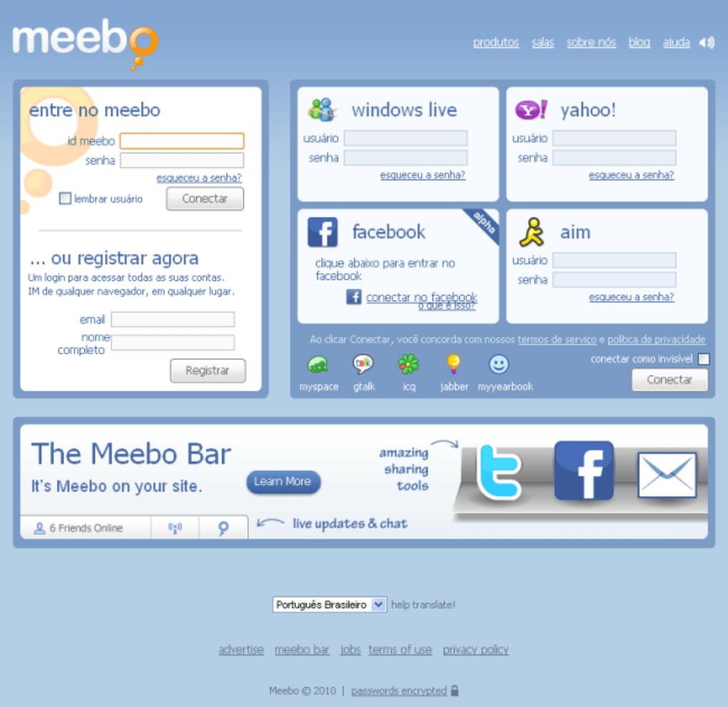 meebo facebook