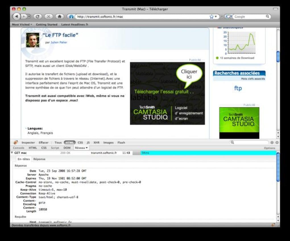 FireBug pour Mac - Télécharger
