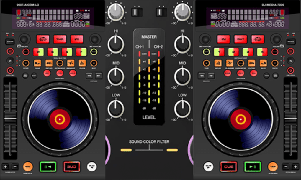 Virtual DJ MP3 Mixer for Android - Download