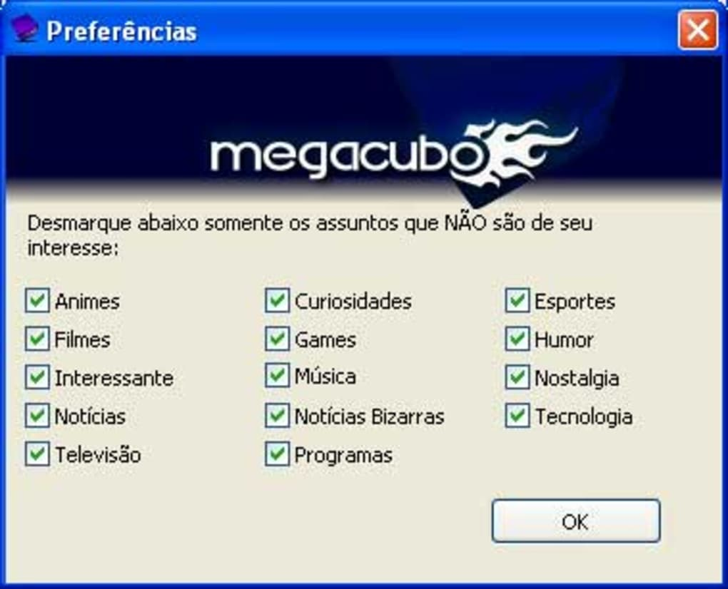 megacubo para windows xp