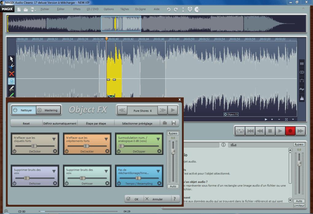 magix audio cleanic 2013 gratuit