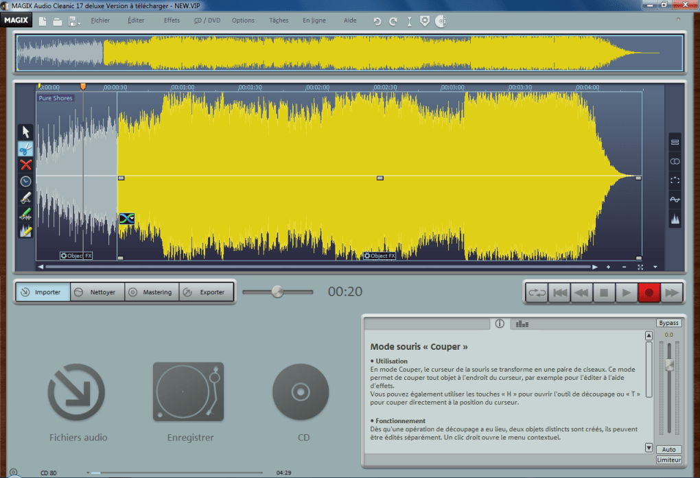 magix audio cleanic 17 deluxe