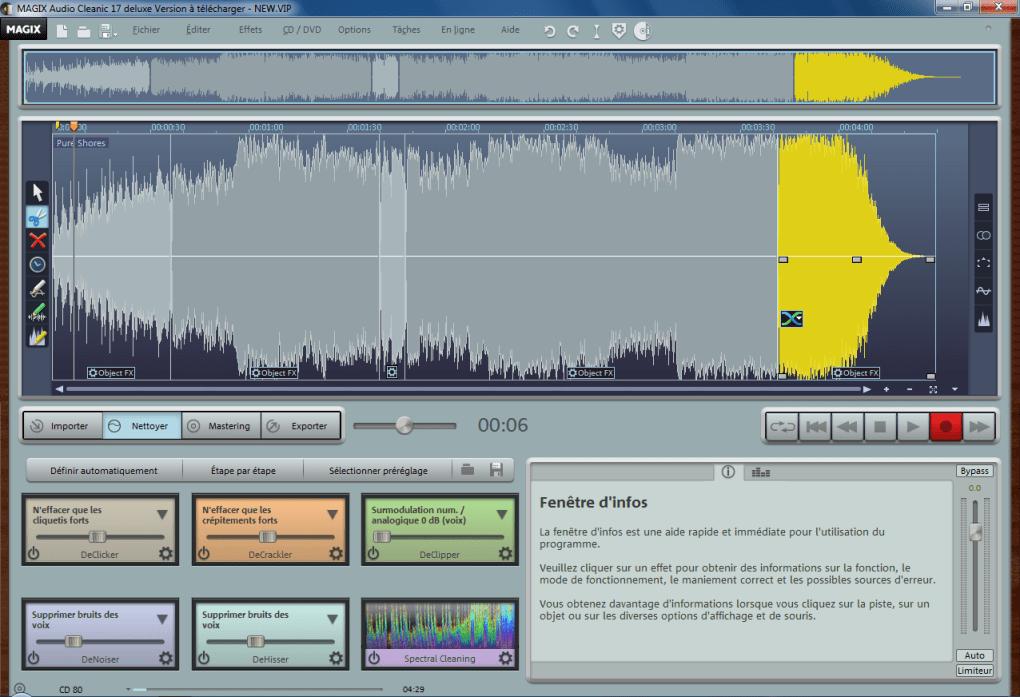 magix audio cleanic gratuit