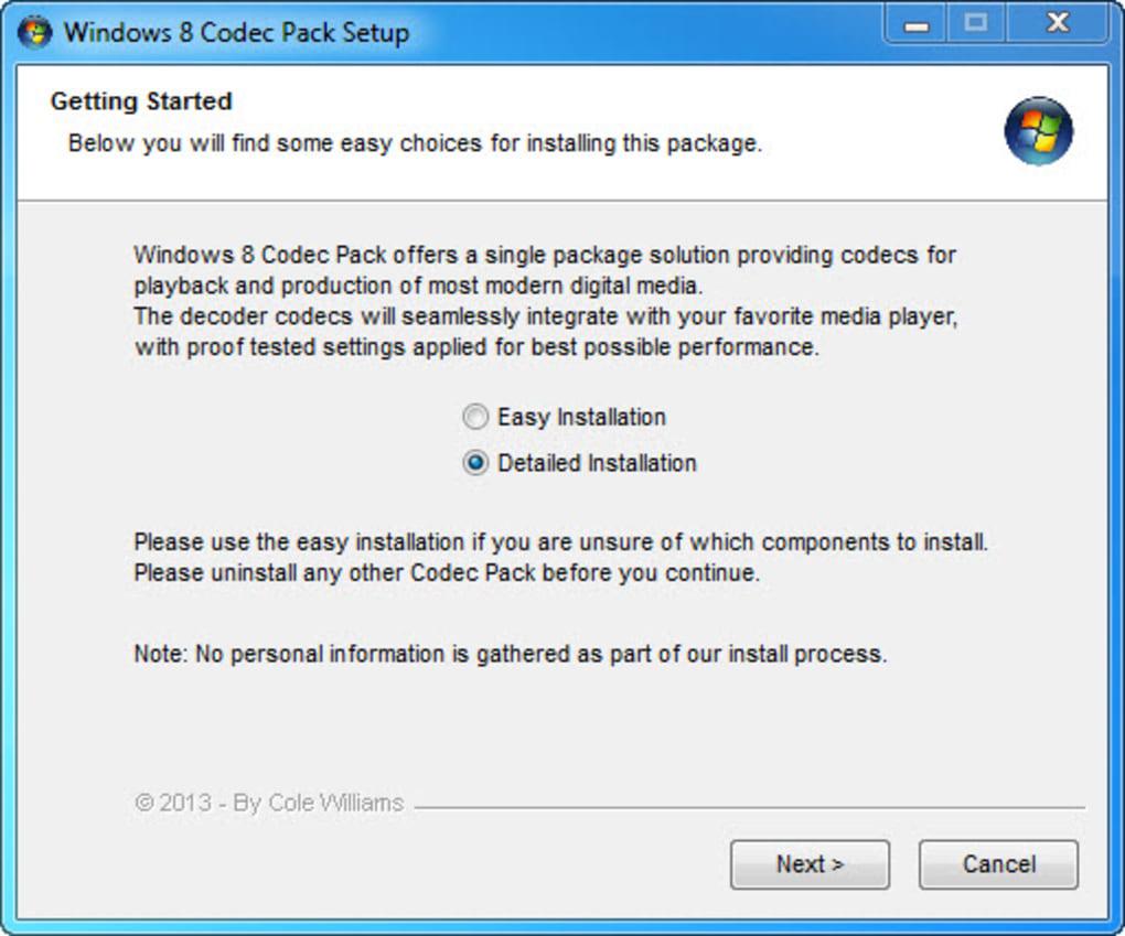Windows 10 Codec Pack Windows Download