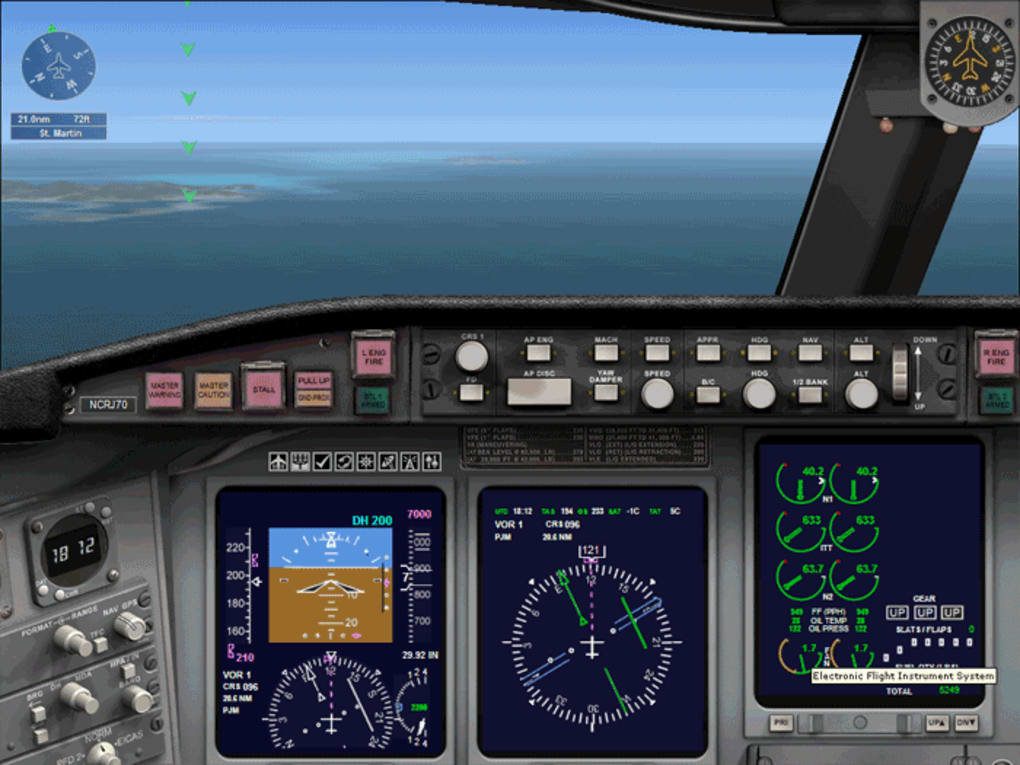 demo jouable flight simulator x