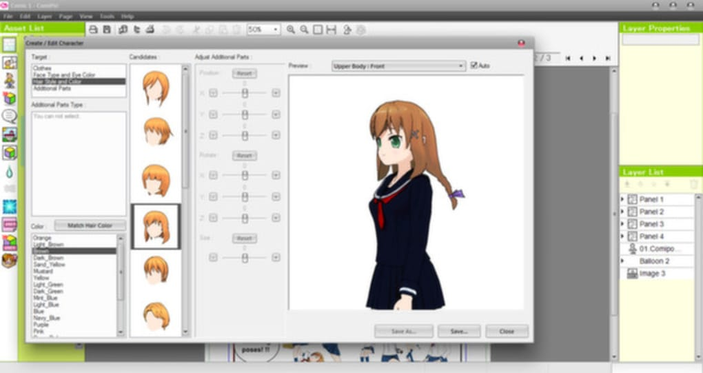 Manga maker comipo free download youtube.