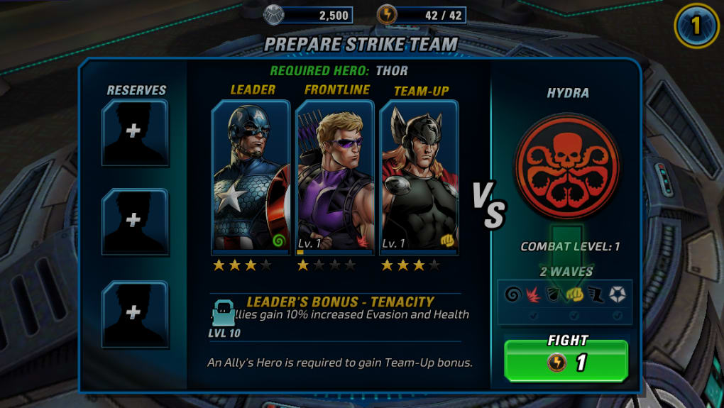 Marvel: Avengers Alliance 2 for Android - Download