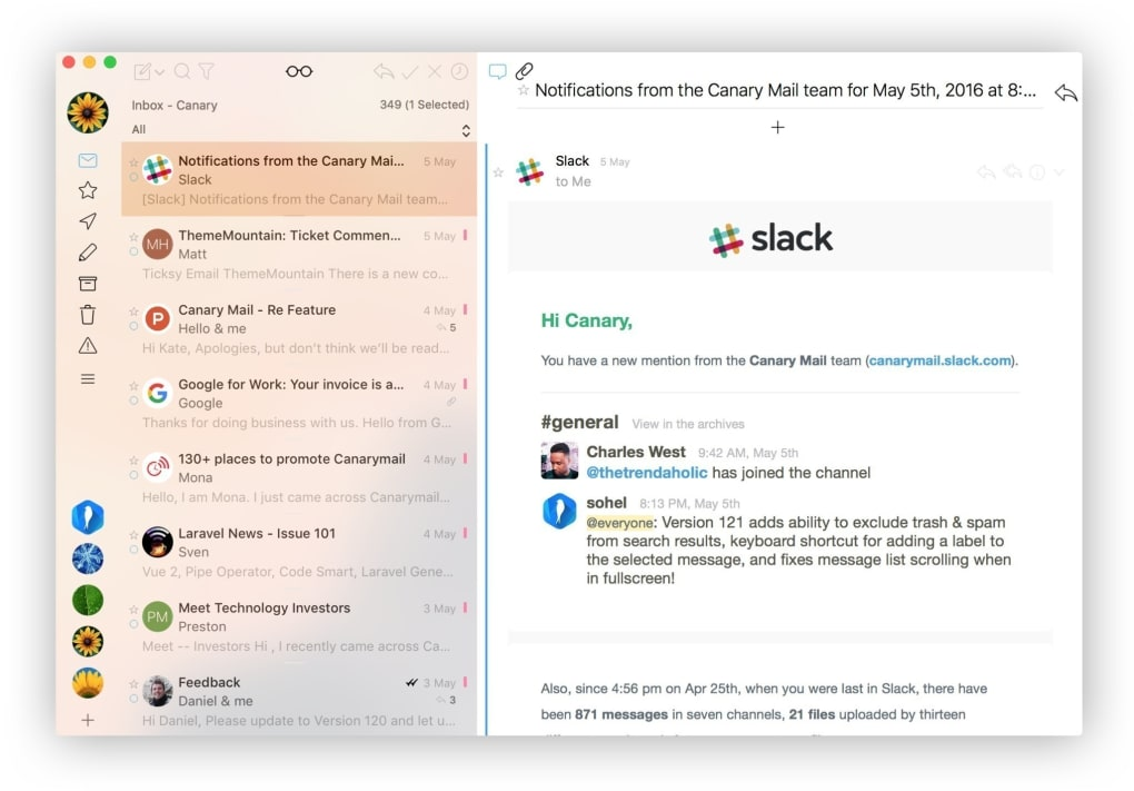 Canary Mail for Mac - Download