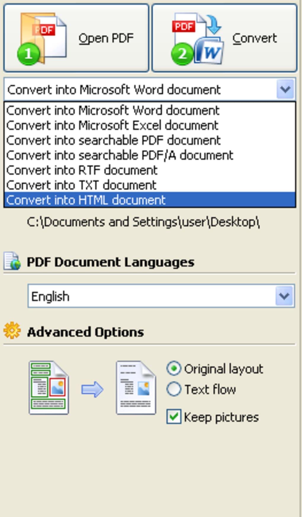 como transformar pdf em word