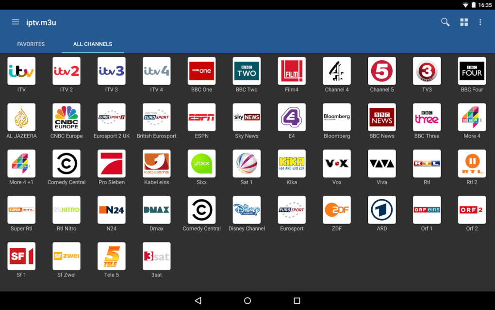IPTV for Android - Download