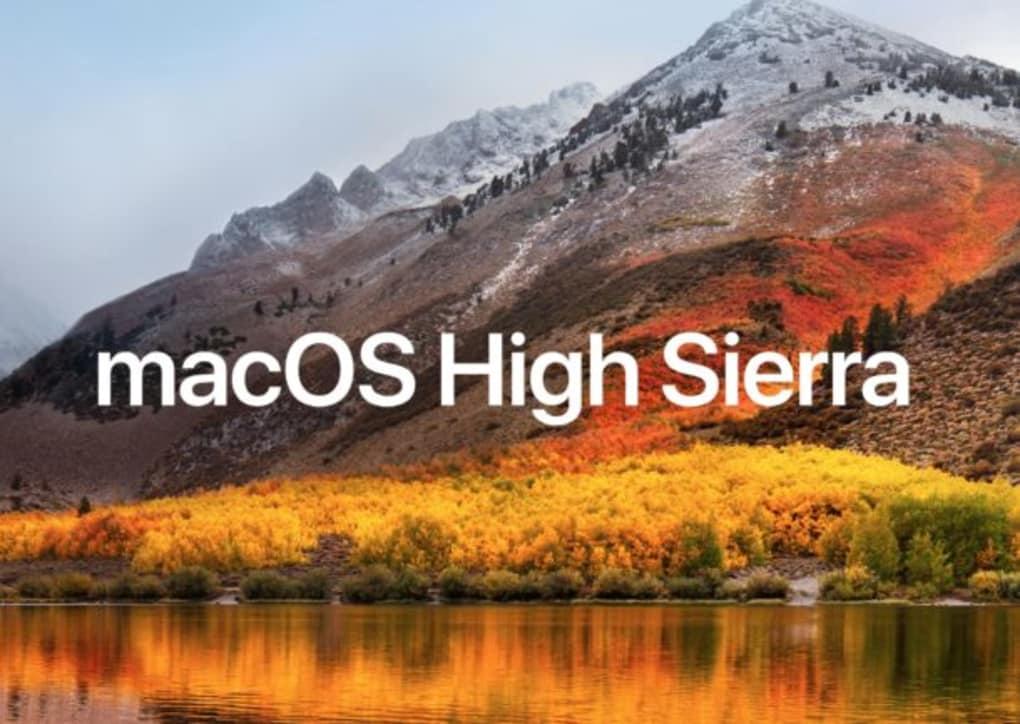 macOS High Sierra for Mac - Download