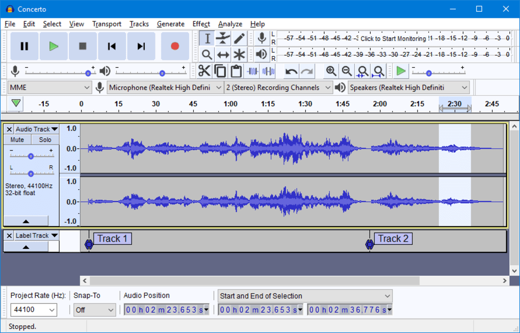 Audacity - Download