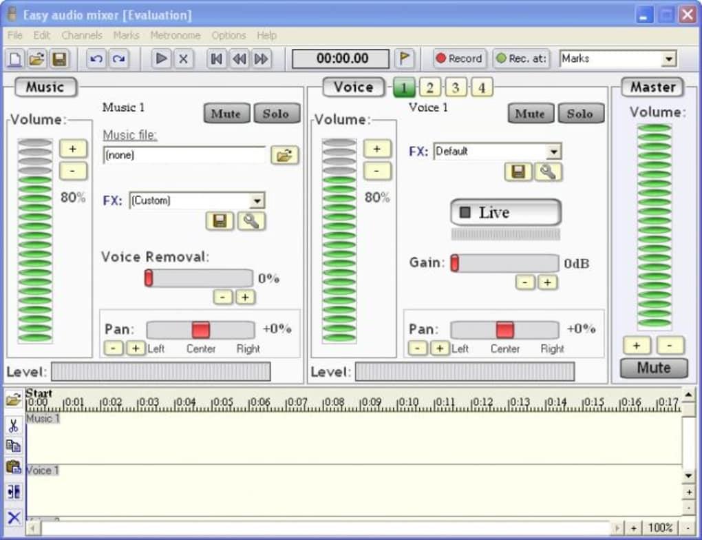 Easy audio mixer - Download
