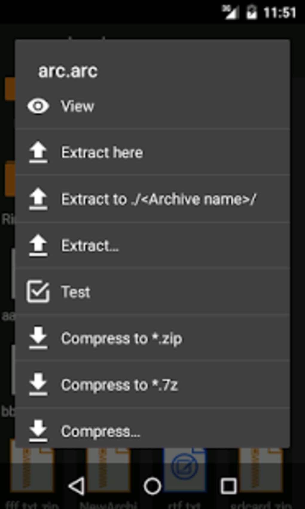 ZArchiver for Android - Download