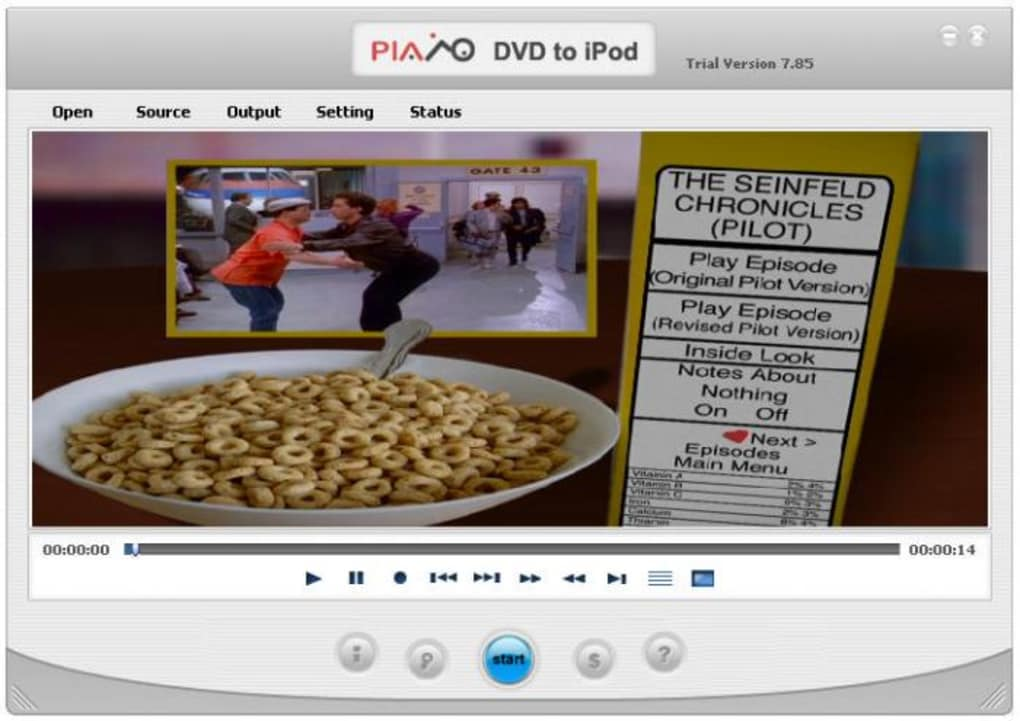 Plato DVD to Pocket PC Converter v5.49