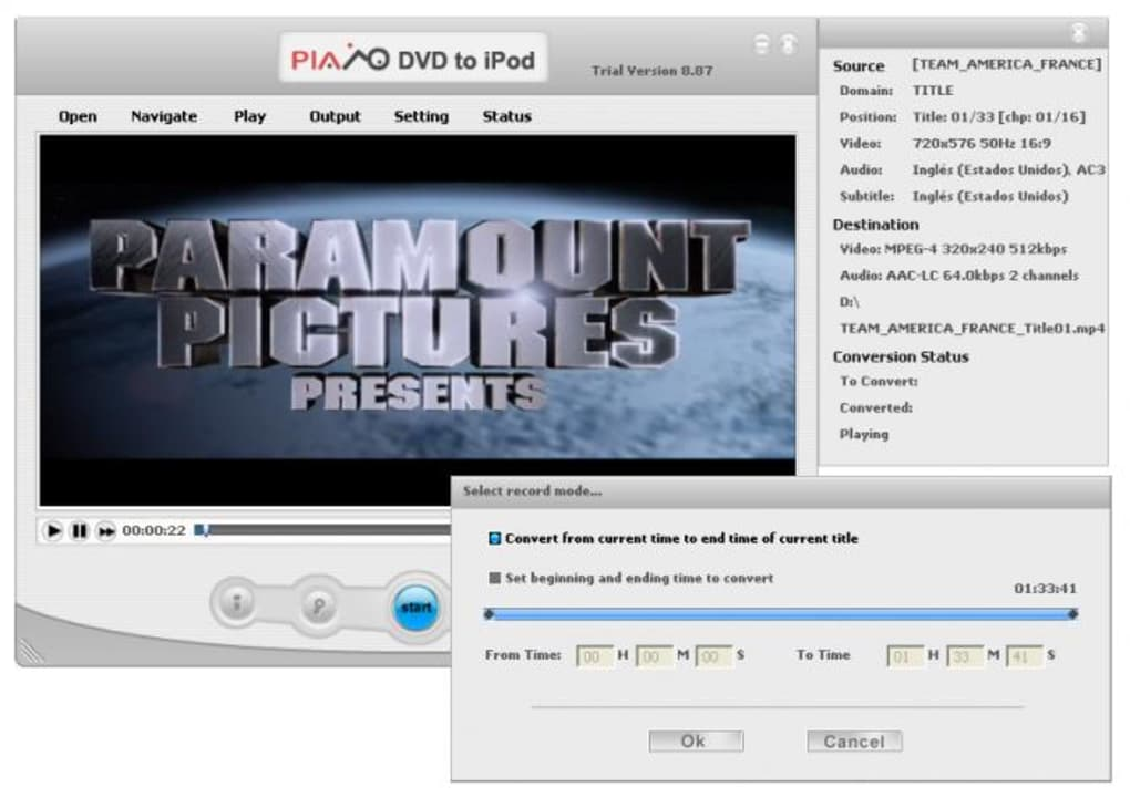 Plato Dvd To Ipod Converter for Windows - Free downloads ...