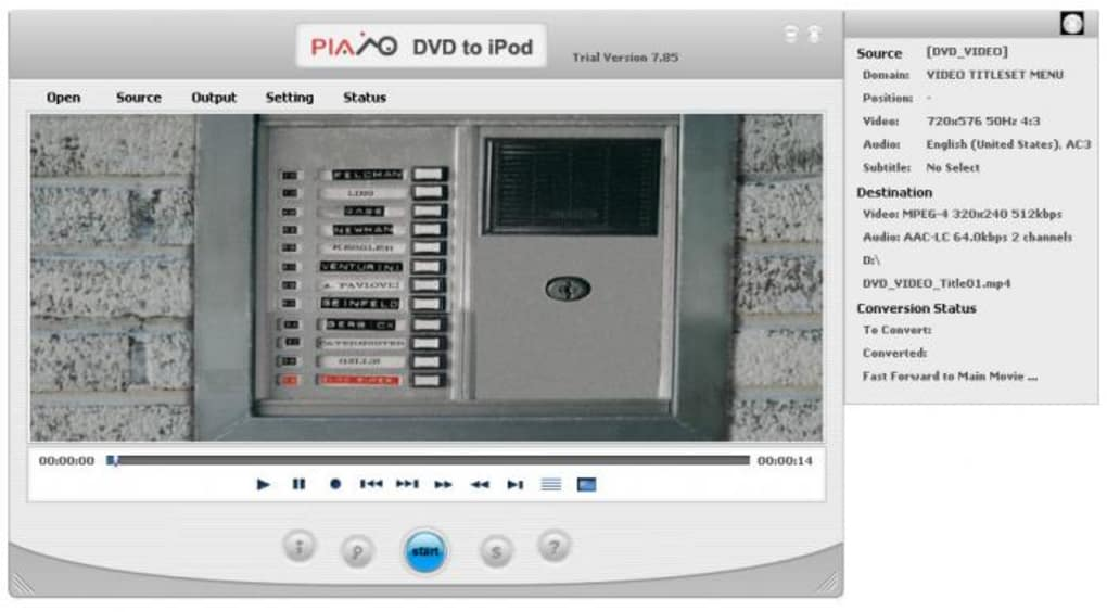 Download Plato DVD to iPod Converter 10.05.01