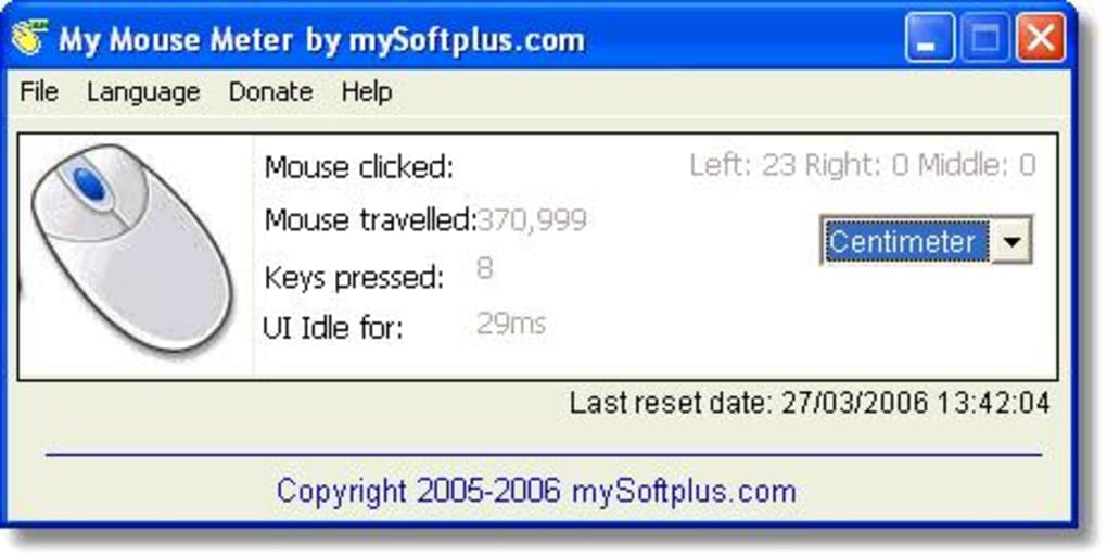 My Mouse Meter