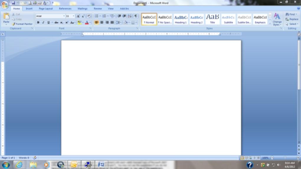 microsoft office descargar gratis 2007