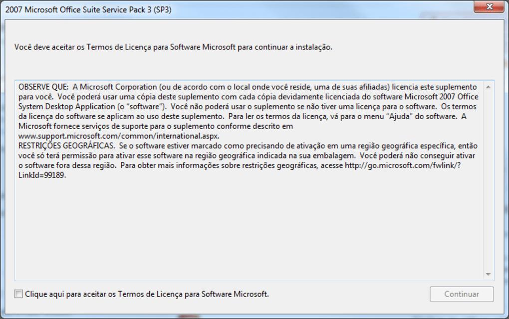 office 2007 sp3 download