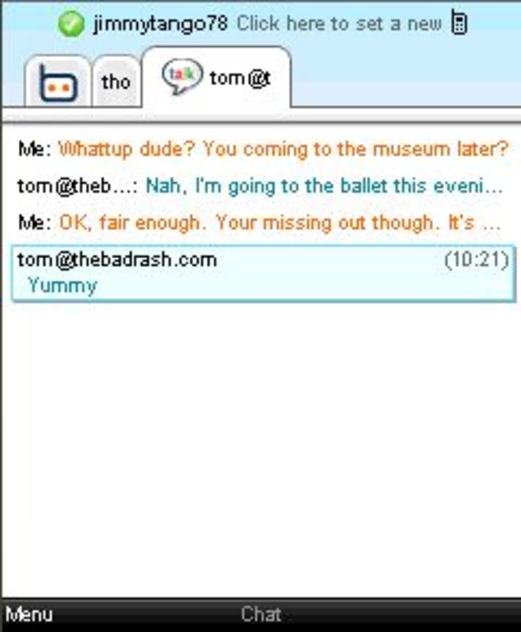 ebuddy 2011 msn per cellulare gratis
