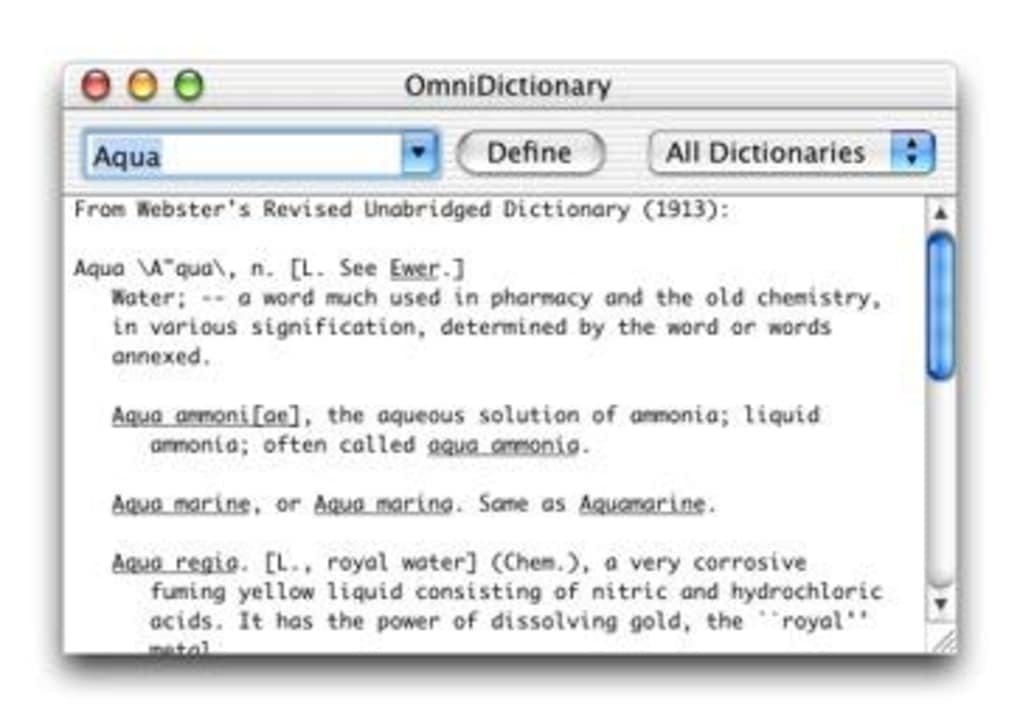 OmniDictionary for Mac - Download