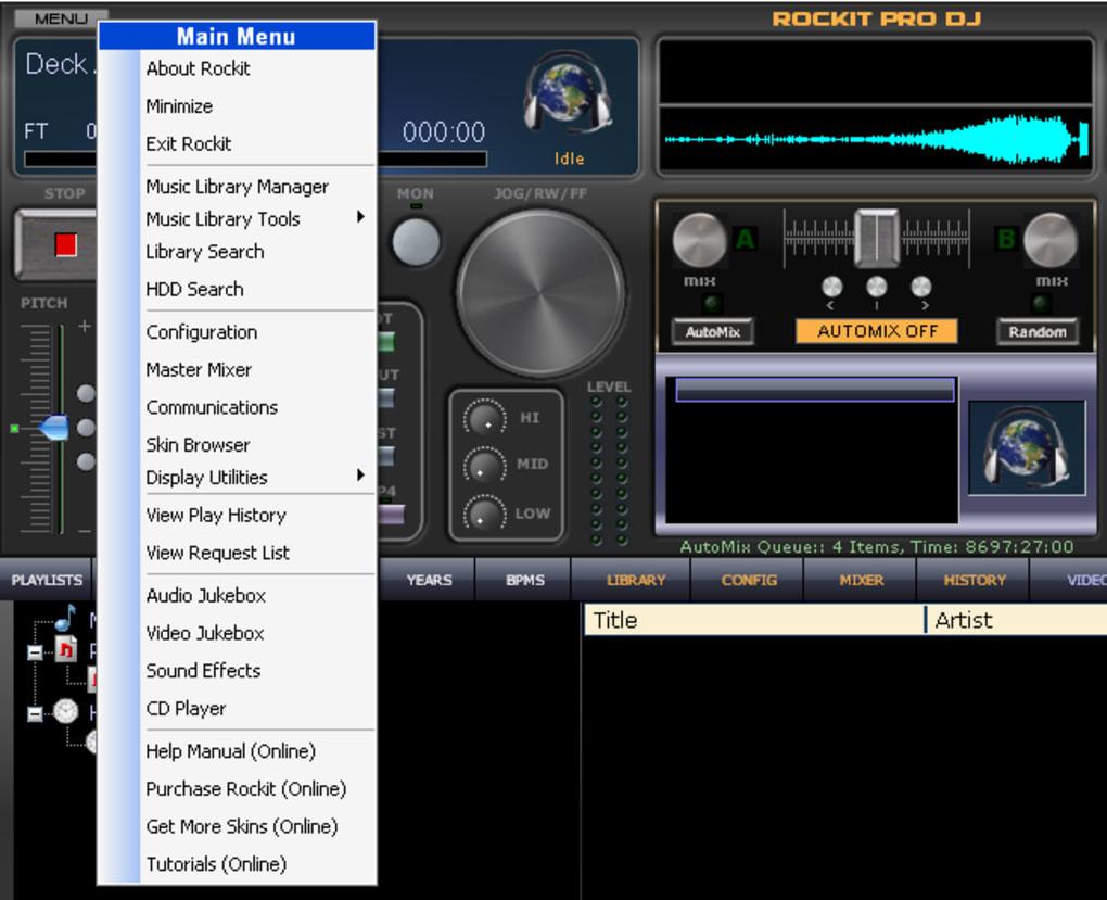 RockIt Pro DJ - Download RockIt Pro DJ. 1/5 Screenshots