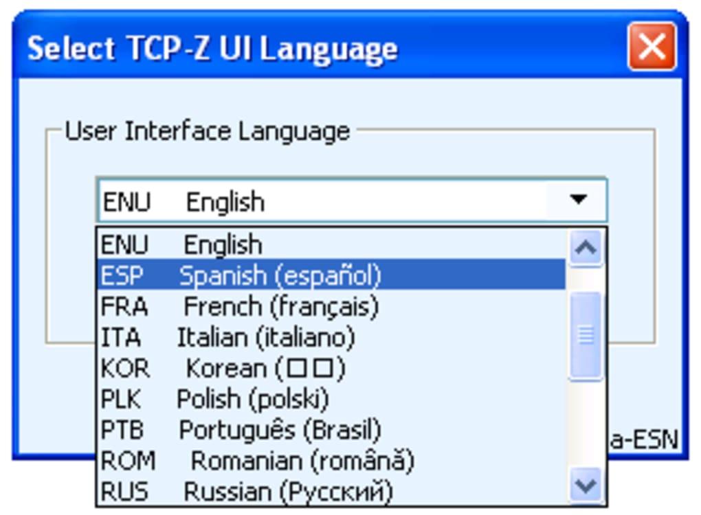 TCP-Z - Download