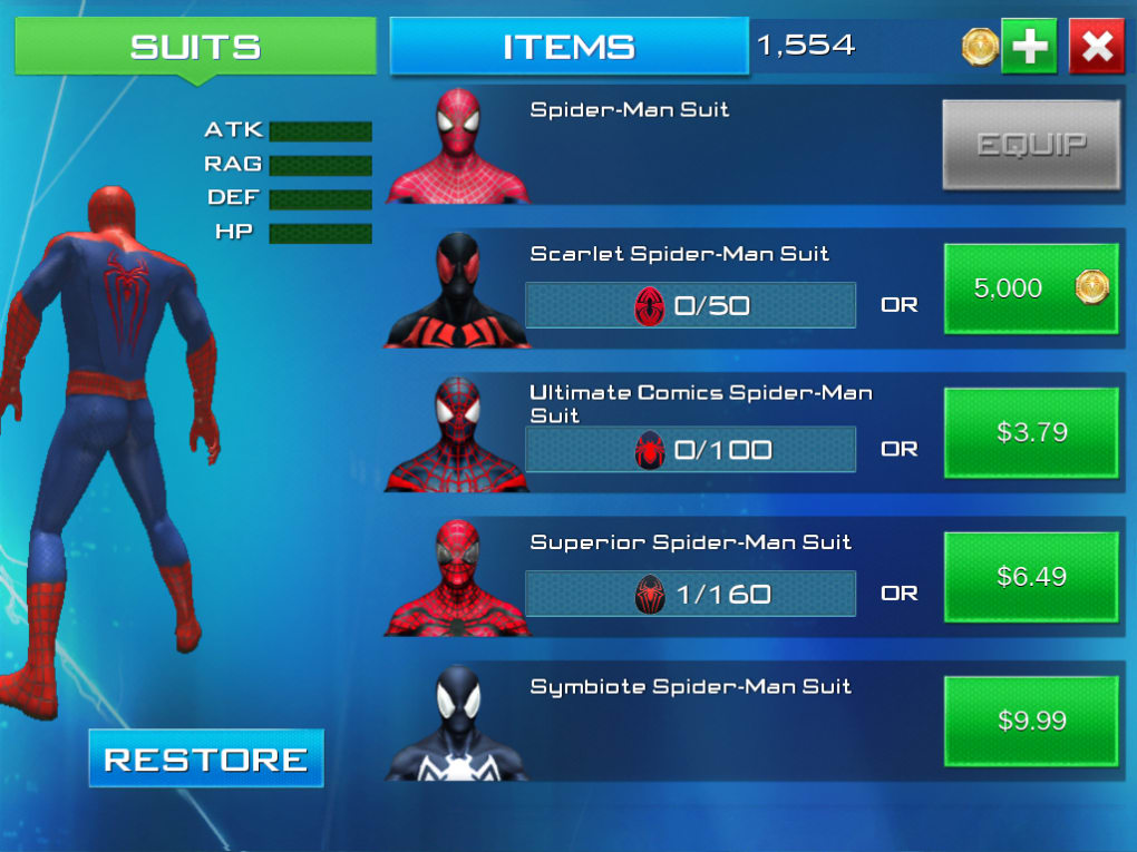 amazing spider man 2 mobile game free download
