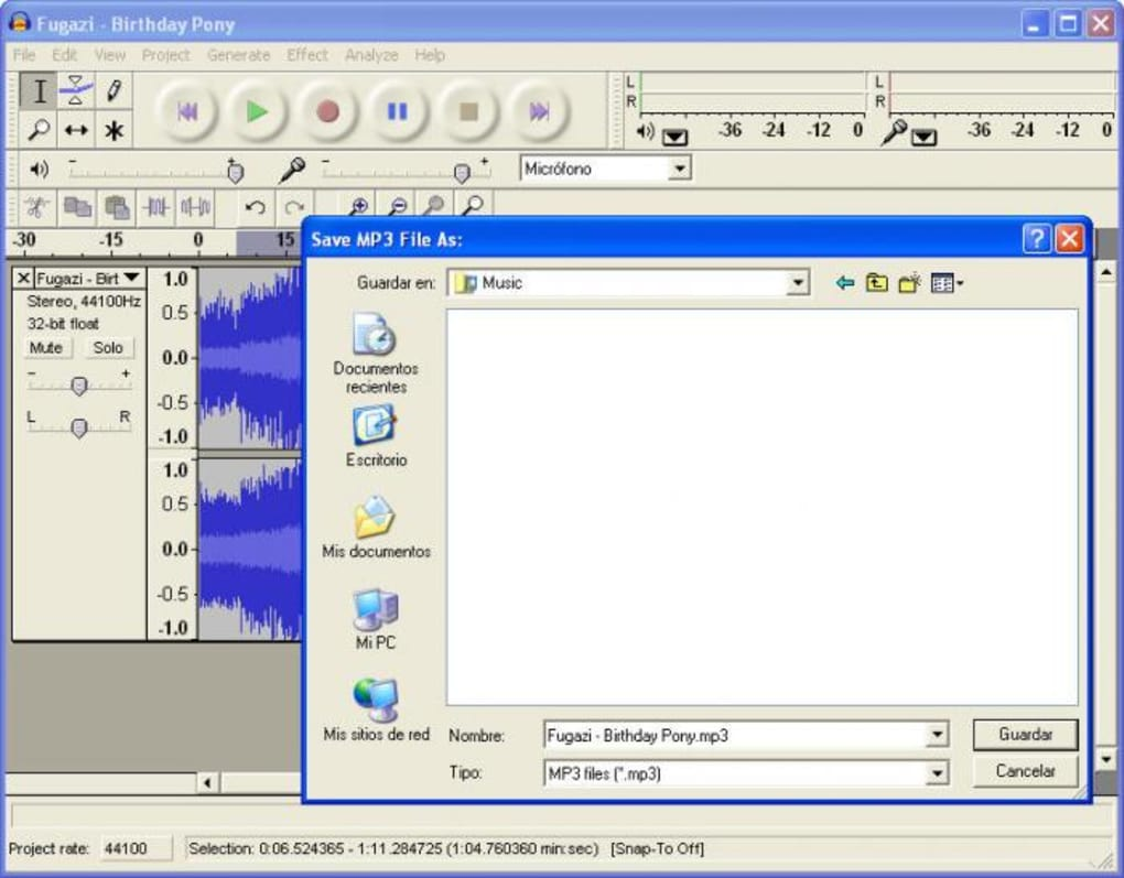 Audacity Portable - Download