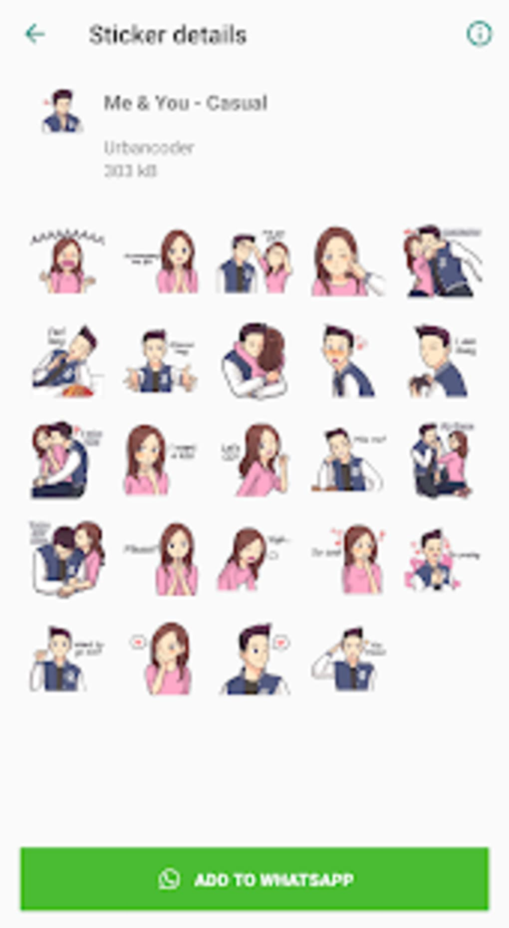 Wastickerapps You I Couple Love Stickers For Android Download
