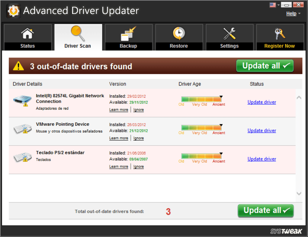 advanced driver updater registration key
