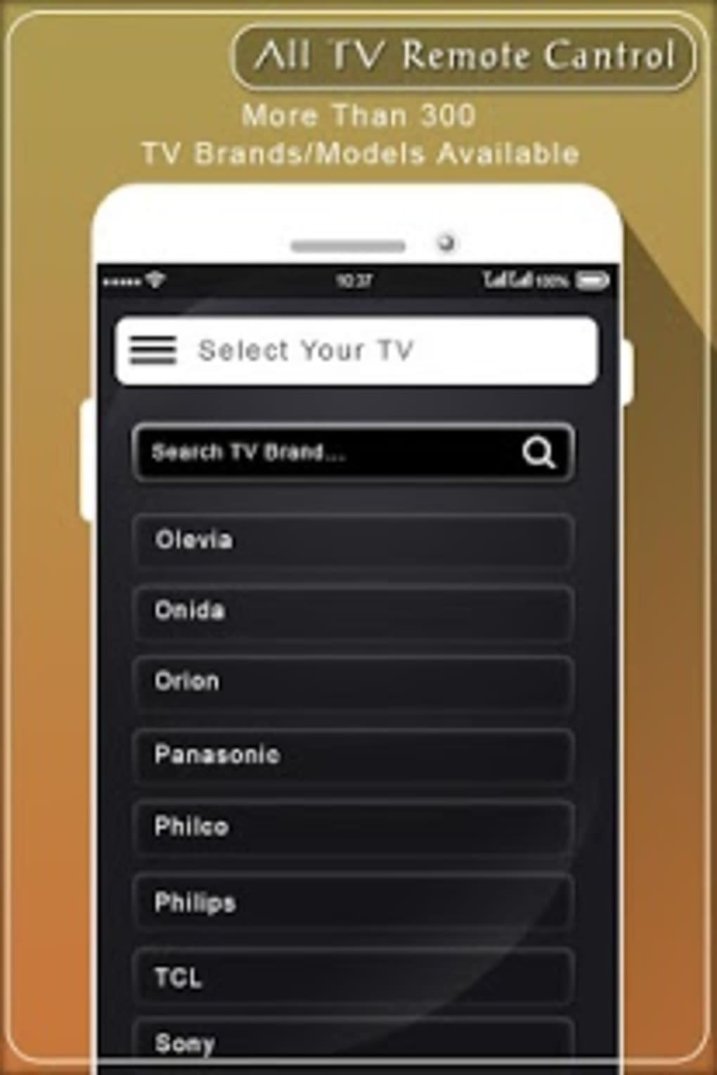 Remote for All TV Model Universal Remote Control for Android - Download