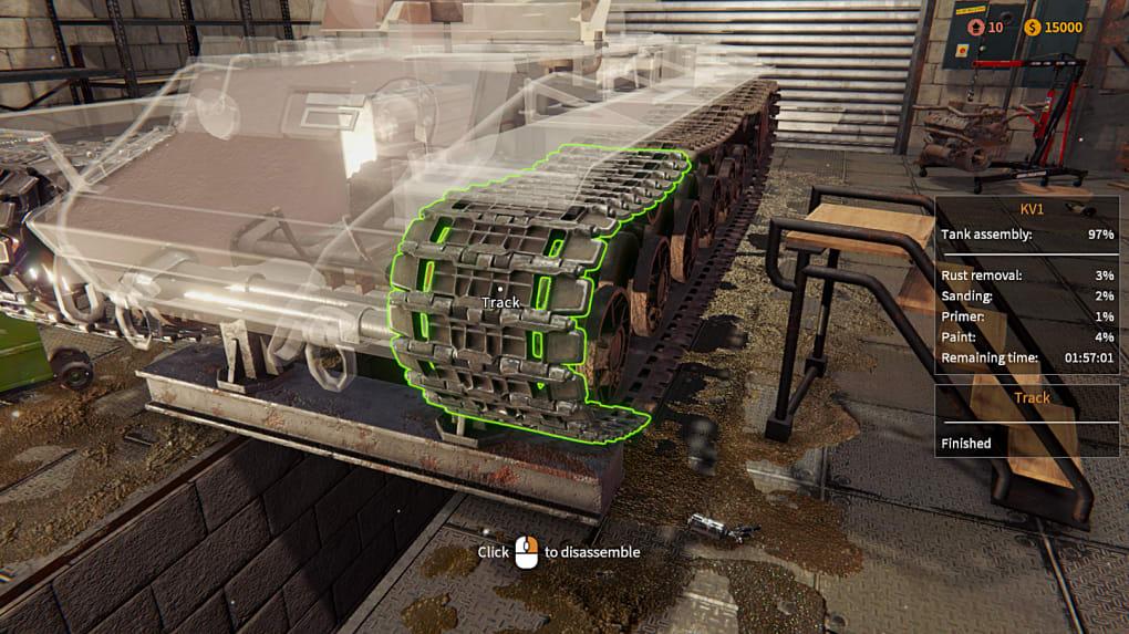 Tank Mechanic Simulator - Download