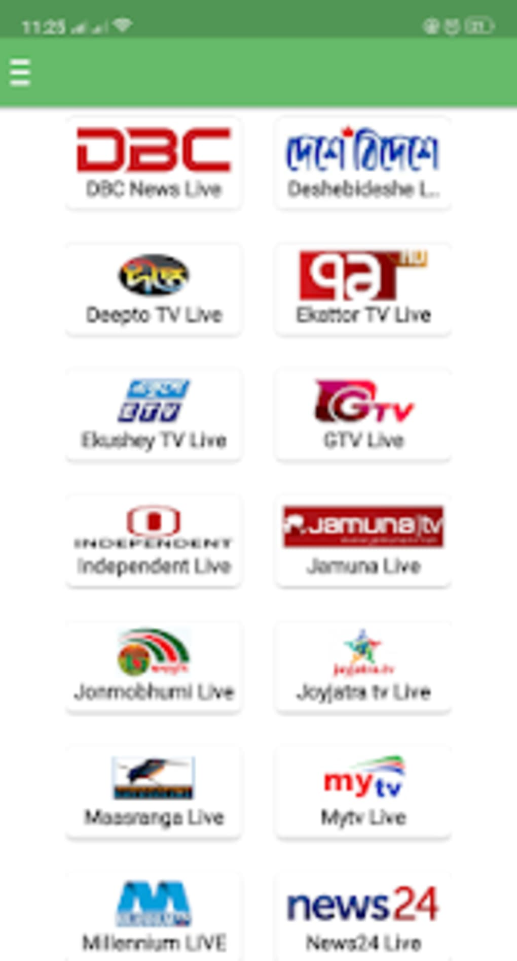 Live Tv App For Android
