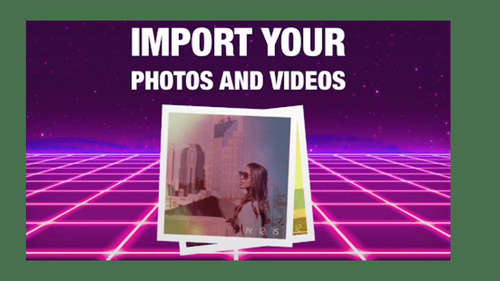 RAD VHS- Glitch Camcorder VHS Vintage Photo Editor for